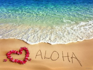 Aloha-Flowers-Heart-Beach-View-Picture